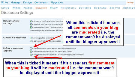 Image of Comment moderation