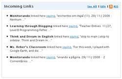 Image of Incoming links
