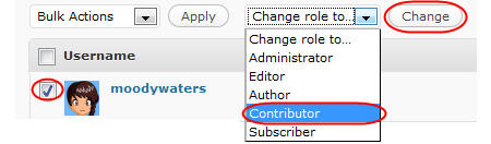 Image of contributor role