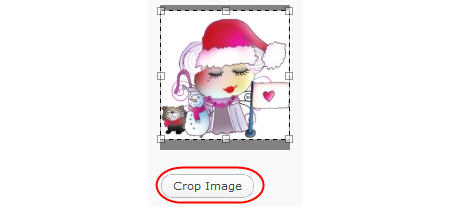 Cropping your avatar