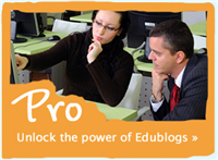 Edublogs Pro subscription