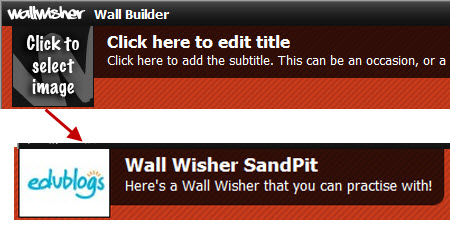 Adding your wallwisher details