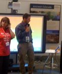 Sue Waters and Richard Byrne at ISTE unplugged