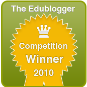 The Edublogger's Winner Badge