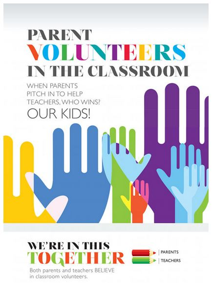 Parent Volunteering Inforgraphic