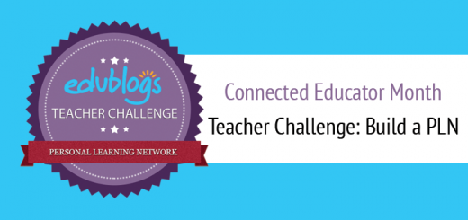 Build A PLN Teacher Challenge