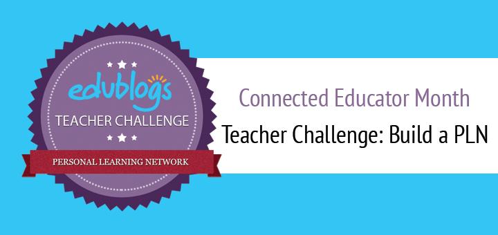 Build A PLN Teacher Challenge