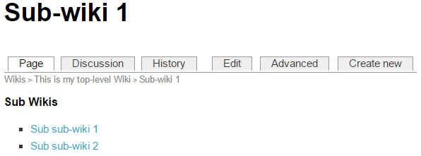 WikiSubSub