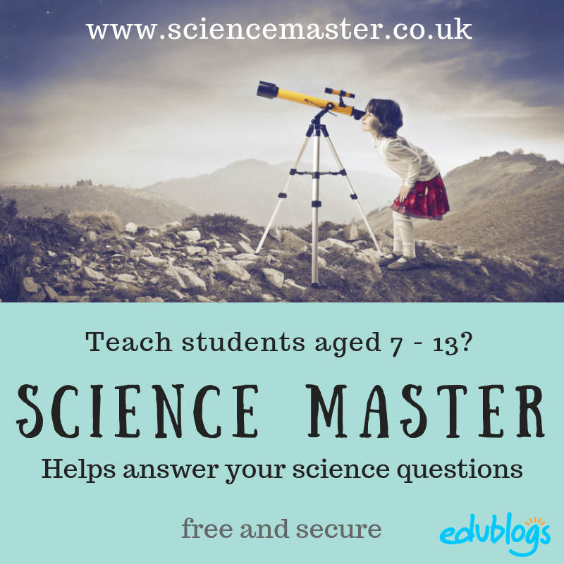 The Science Master A Resource For Curious Students Aged 7 -13. Get a personal answer to your science questions