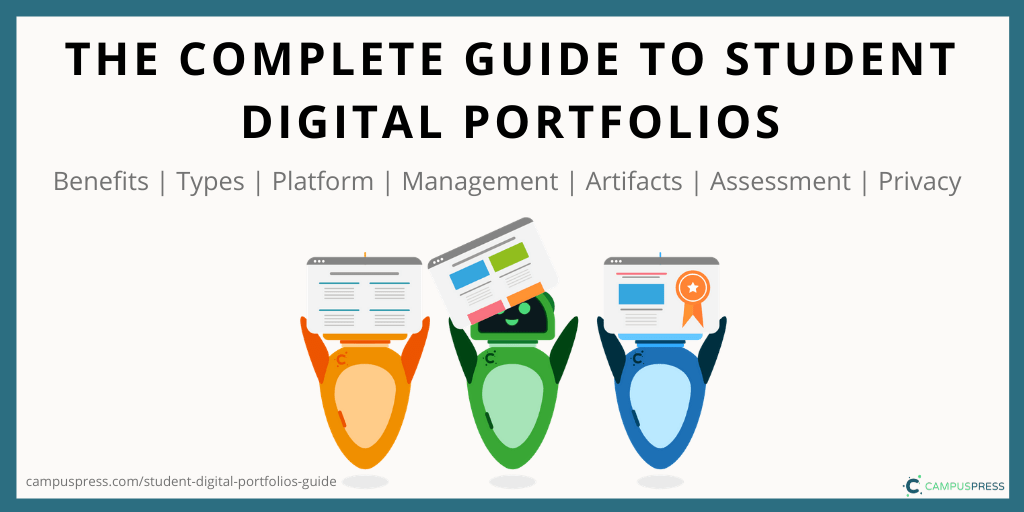 Graphic: The Complete Guide to Student Digital Portfolios CampusPress
