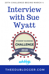 The 20th Student Blogging Challenge begins on March 4! This is a fantastic way to learn about blogging with your students while connecting with others around the world. Sue Wyatt explains how you can take part in the challenge. The Edublogger | Edublogs