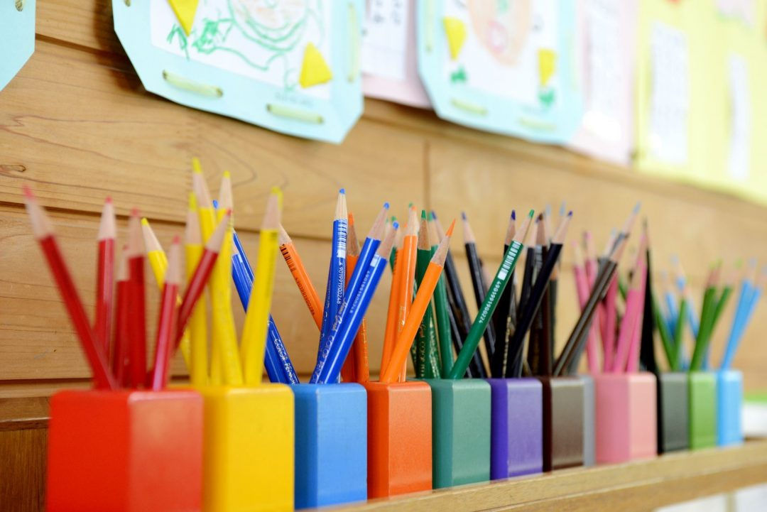Blogging With Young Students | Becky Versteeg | Colored pencils