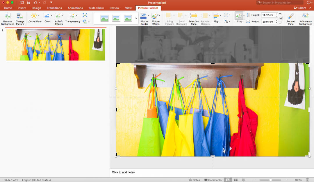Use the slide viewer in PowerPoint