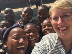 Julie Hembree in Africa
