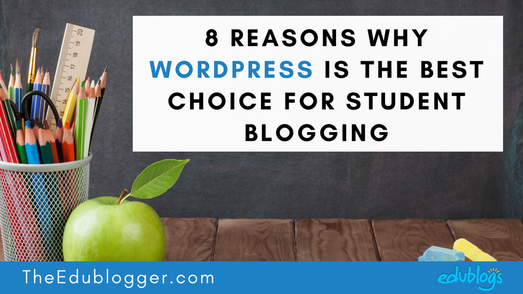 There are many tools and services available that allow students to publish online. Edublogs and CampusPress are powered by WordPress. This post explains 8 reasons why WordPress is the best choice for your student blogging platform.