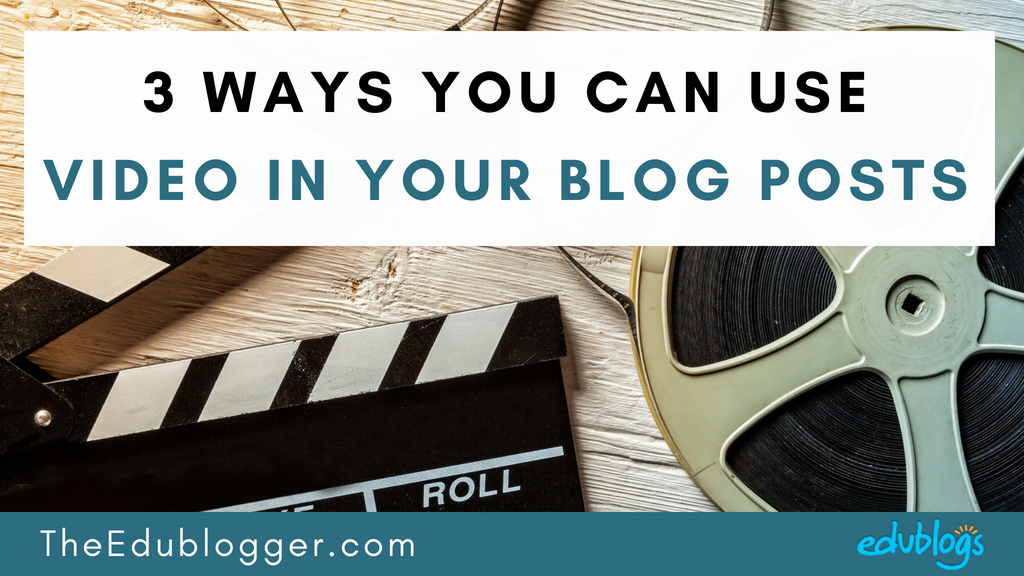 Videos can really bring your blog alive and make the visitor experience more engaging and interactive. This post demonstrates three ways that you can use videos in your blog posts with examples and tips.