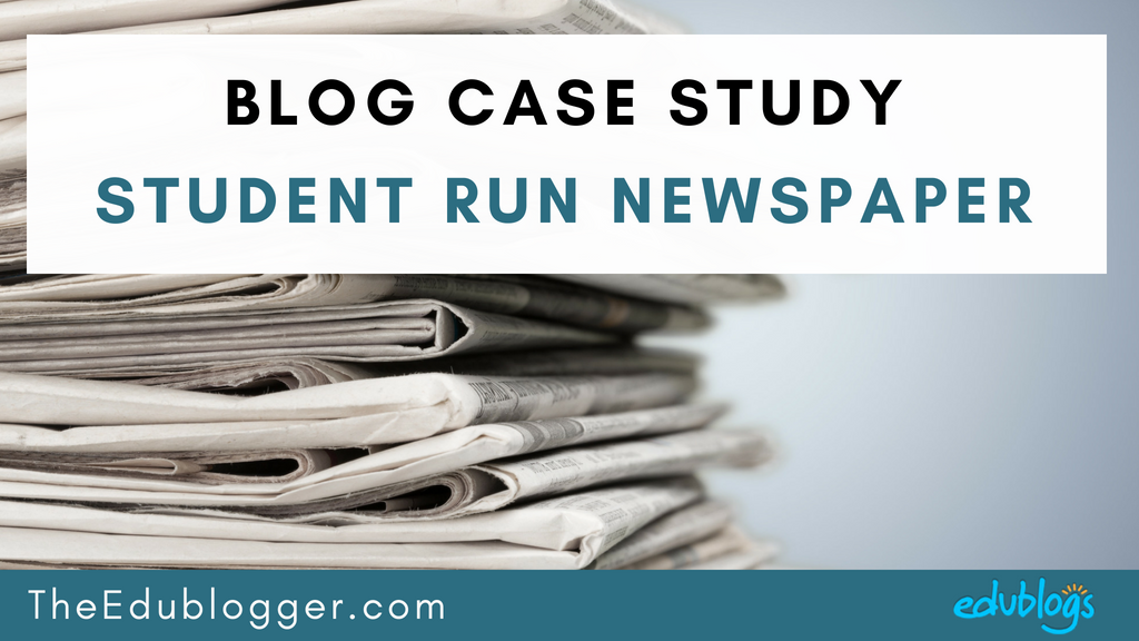 Have you ever considered helping your students set up a student run newspaper on a blog at your school? We interviewed a Zurich teacher to find out about his students' impressive publication. Edublogs | The Edublogger