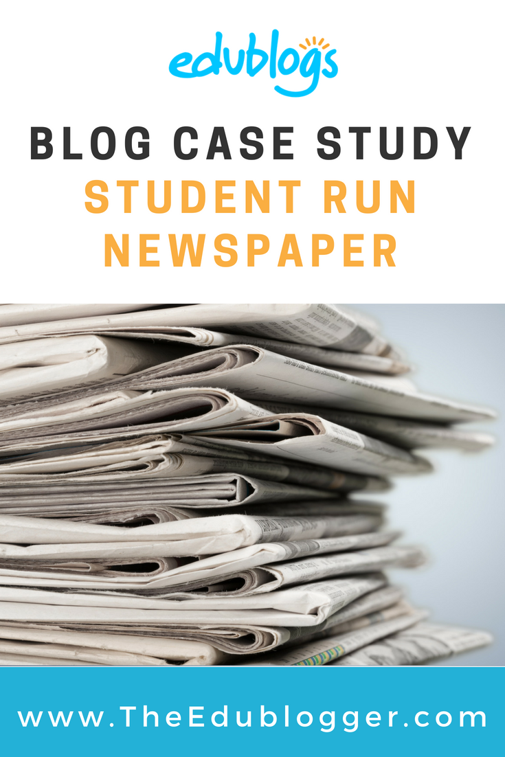 A blog can be the perfect platform for a student run newspaper. Find out how it's done at this secondary school in Zurich | Edublogs | The Edublogger
