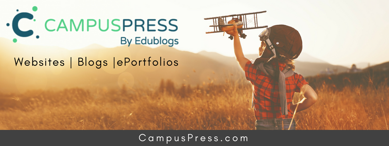 CampusPress by Edublogs -- ePortfolios, blogs, or websites for your entire school, university or district