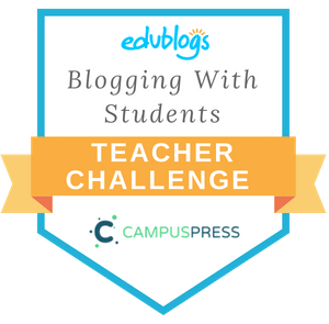 Teacher Challenge Blogging With Students Badge