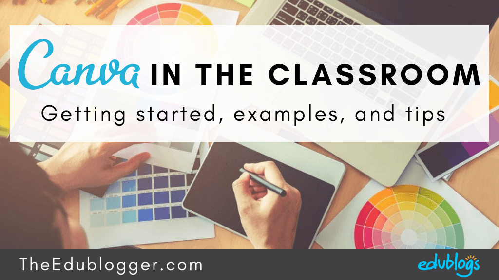 There's so much teachers and students can do with Canva! This post explains how to get started with the free version of Canva and goes through 10 examples of handy classroom Canva creations. The Edublogger