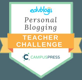 Personal Blogging Teacher Challenge