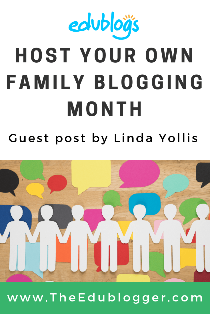 This is a guest post by Linda Yollis who explains her popular 'Family Blogging Month' concept. Find out how to run a similar challenge in your own classroom.