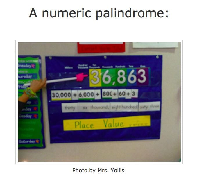 A number palindrome