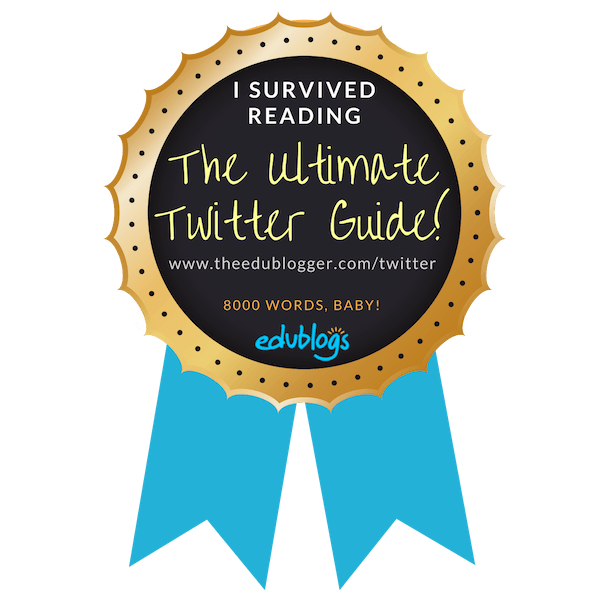 I survived reading the Ultimate Twitter Guide