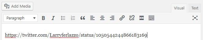Add URL