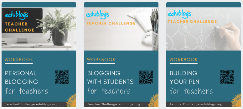 3 PDF workbooks for teachers