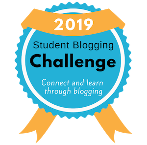 2019 Student Blogging Challenge Badge