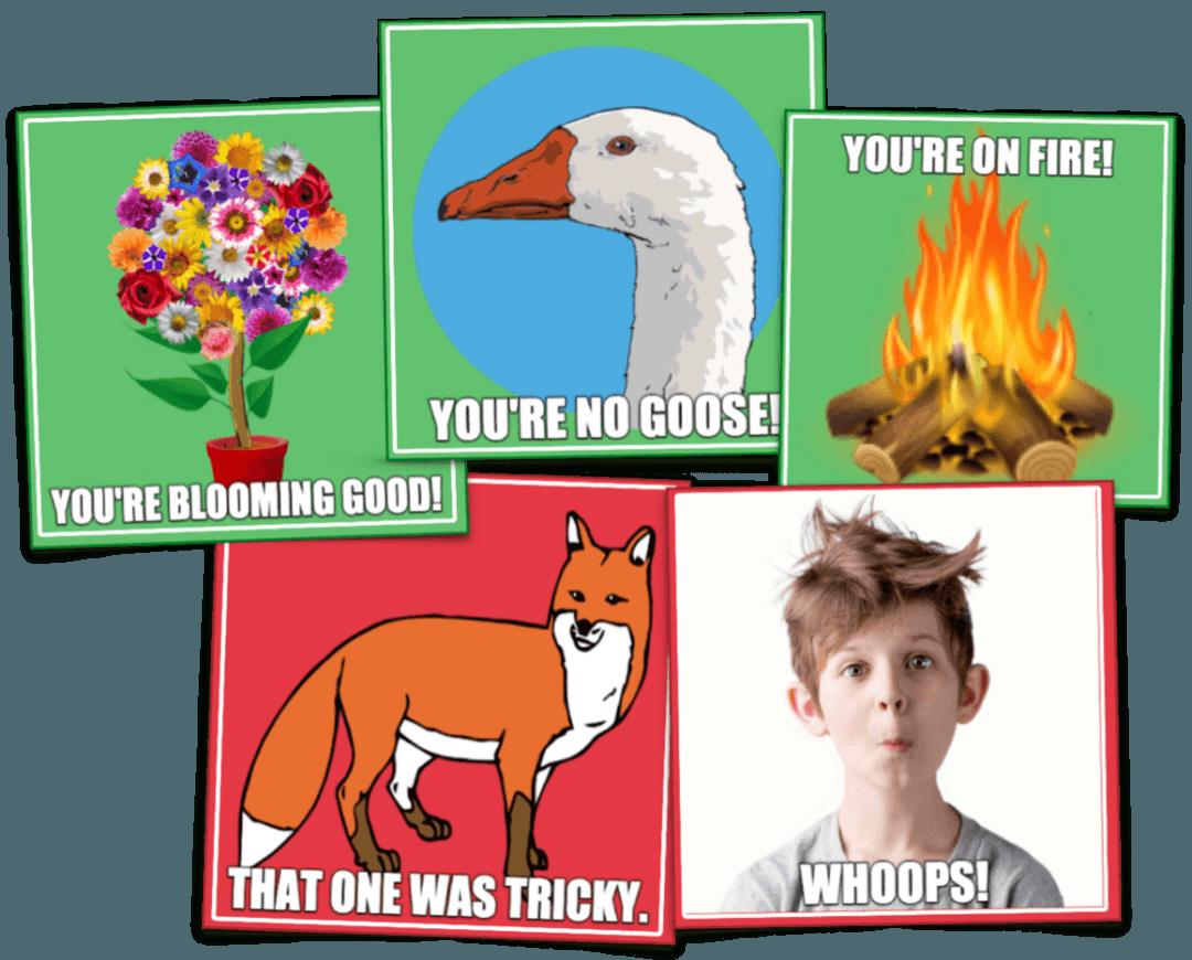Quizizz memes examples