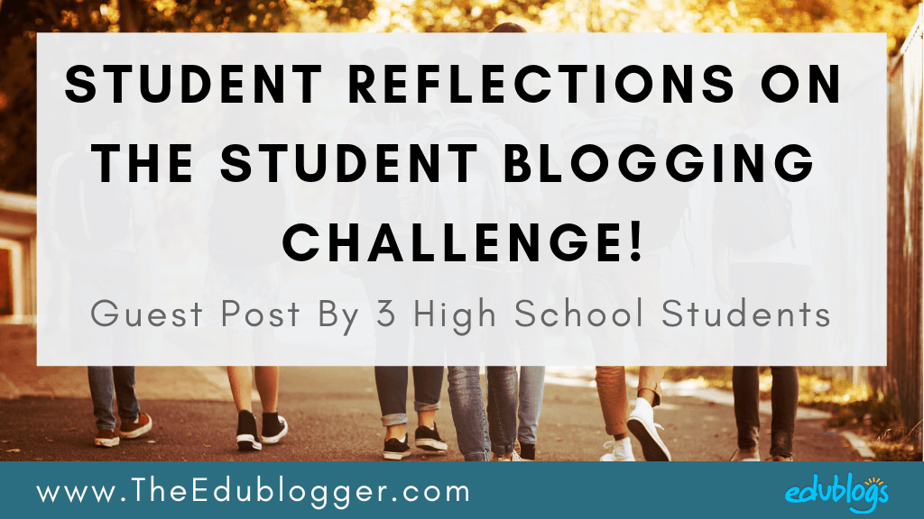 Three Candian students who took part in the 2018 Student Blogging Challenge share their reflections and a video about their challenge experience.