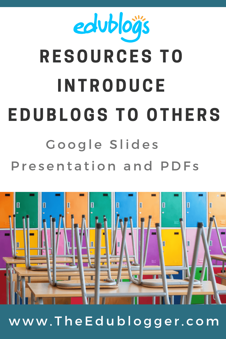 To help educators share Edublogs with colleagues or parents, we've introduced some new resources. Check out the Google Slides presentation and PDFs that explain what Edublogs is all about. The Edublogger