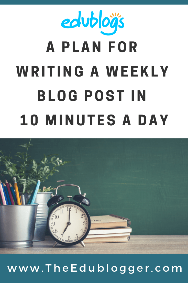 This post outlines a simple approach that will see you develop consistency with your blogging and publish one blog post a week. You only need 10 minutes a day to reach your blogging goals!