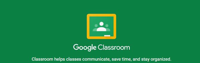 Screenshot Google Classroom