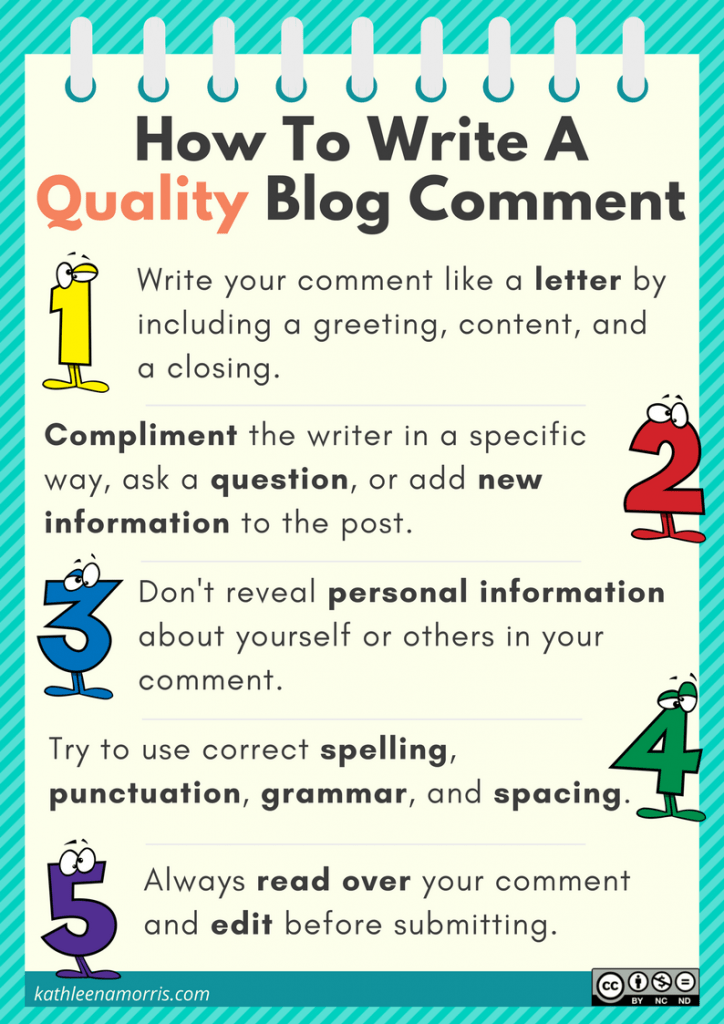 How to write a quality blog comment