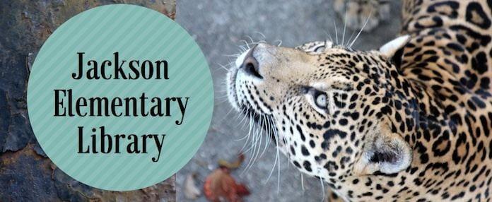 Jackson Elementary Library blog banner